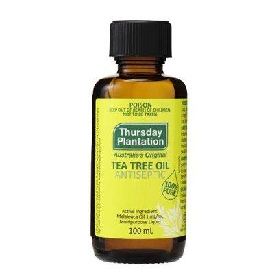 【澳洲星期四農莊】滿額免運~100%純茶樹精油 Tea Tree 100ml 最新超划算大容量超新鮮現貨