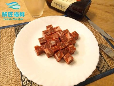 【鮮匠海鮮】【美國CHOICE級霜降骰子牛(200g)】冷凍食品,真空包裝