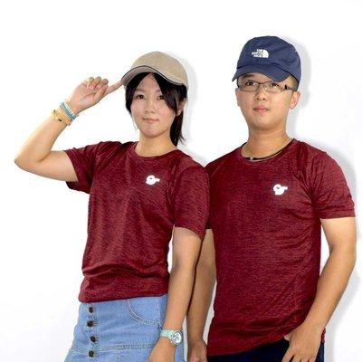 康森士conscious (暗紅) 麗彩紗T恤   CS-T17708 S~3XL