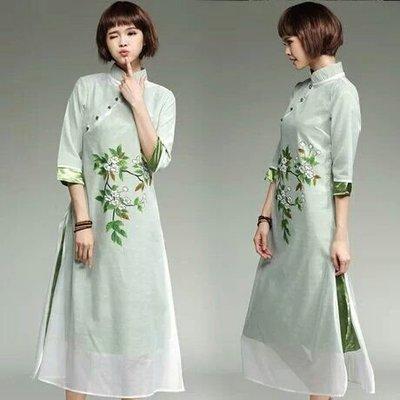 天使佳人婚紗禮服~~~~~~假兩件改良旗袍連衣裙