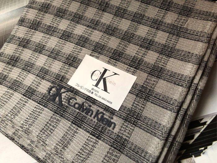 Calvin Klein 日本製CK男性紳士手帕,約48/48