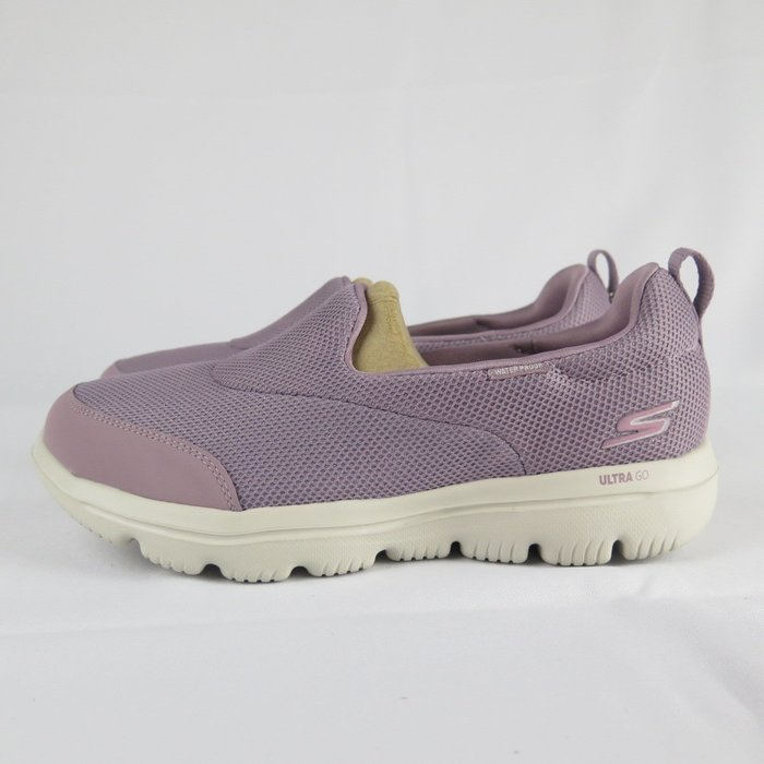 【iSport愛運動】Skechers GO WALK EVOLUTION ULTRA健走鞋 15767MVE藕粉 女款
