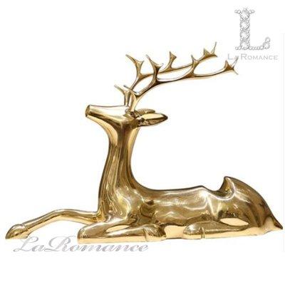 【芮洛蔓 La Romance】純銅鍍金麋鹿紅酒架