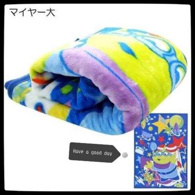 迪士尼 玩具總動員 三眼外星人 大毛毯