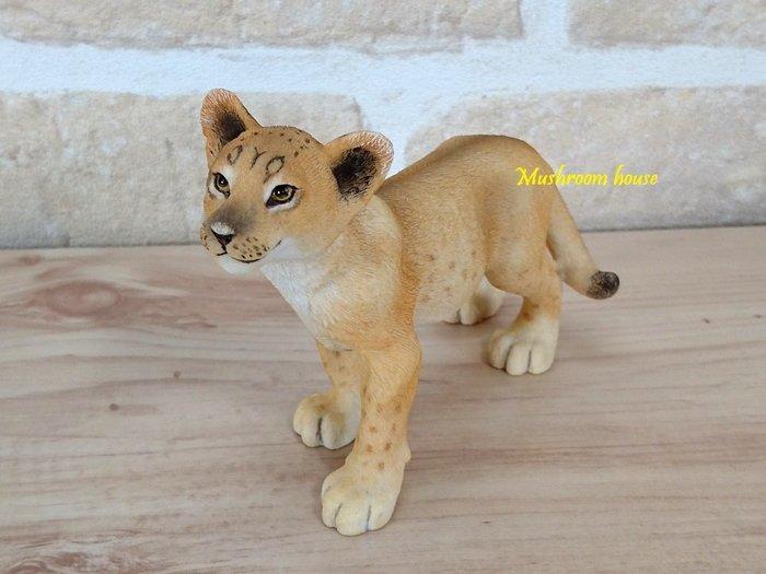點點蘑菇屋 歐洲精品小獅子 獅子王 動物擺飾 野生動物 精品家飾 禮物 鄉村風雜貨 現貨 免運費