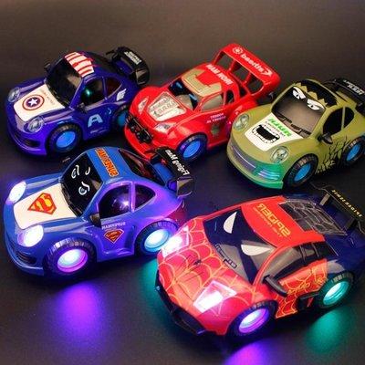 模型車 兒童寶寶電動音樂跑車玩具1-2-3周歲小男孩耐摔賽車萬向汽車模型   全館免運