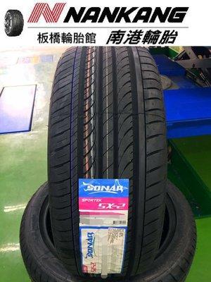 【板橋輪胎館】南港輪胎 SX-2 215/45/17