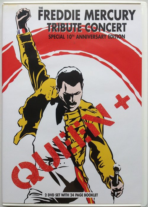 2DVD/ Queen - The Freddie Mercury Tribute Concert 二手歐版 科藝百代