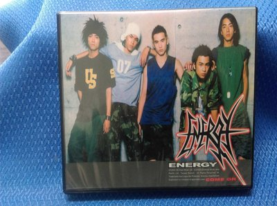 CD-Energy COME ON專輯 附一張VCD(二手片,盒書完整)