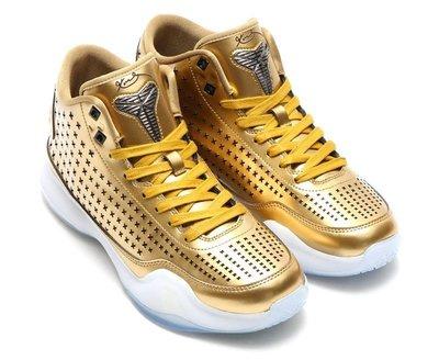 =CodE= NIKE KOBE X MID EXT 皮革籃球鞋(金白) 802366-700 QS 退休 10 預購