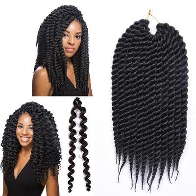 SUNNY雜貨-AliRobam Senegal twists crochet braids hair臟辮手搓辮鉤針發#假髮#臟辮