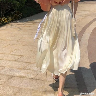全館免運 Onepire Atelier|Mademoiselle Ripple|水波小姐發光銅氨絲半裙   免運 可開發票