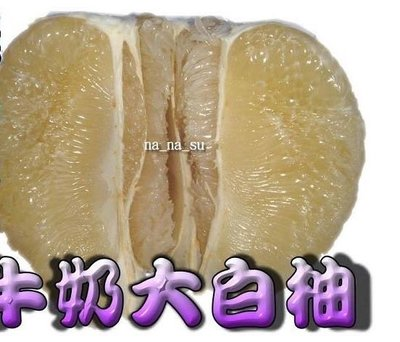 牛奶大白柚 超爆汁好吃
