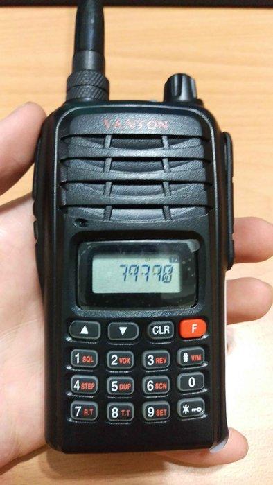☆寶藏點☆ YANTON T166 VHF 單頻 免執照 無線電 對講機 《附原廠電池+天線》液晶螢幕異常 jj172