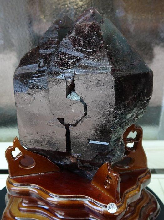 ~shirley ~國家寶藏~真品super seven骨幹水晶~2.9公斤~完整滿絲~能量爆衝~收藏極品!