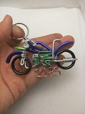 摩托車鑰匙圈(不含字)