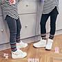 ♥【GK5081】韓版女童裝素面束腿內搭長褲 2...