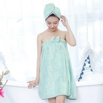 日和生活館 可穿可裹大浴巾百變套裝女大人抹胸不掉毛比純棉吸水輕熟裹胸浴裙 S686