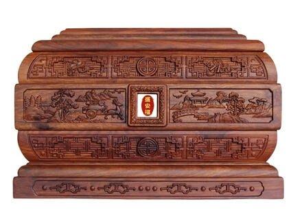 獨一無二 骨灰盒 實木紫檀黑檀木純花梨木紅酸枝木高檔壽盒防潮盒