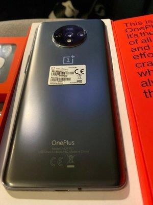 熱賣點 旺角店 One plus 7t  8+128/8+256GB /極速快充 一加手機 籃/銀 現貨 ONEPLUS 全新 li