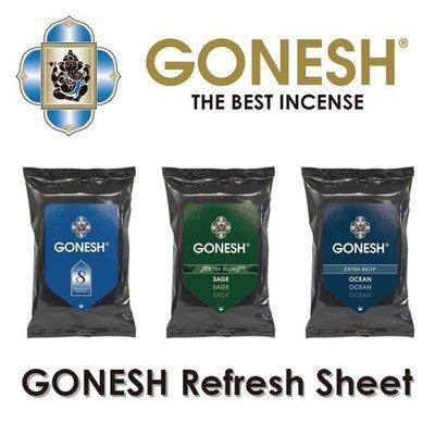 ~Fantasy~GONESH 清新濕巾 濕紙巾 refresh sheet 線香感精油香