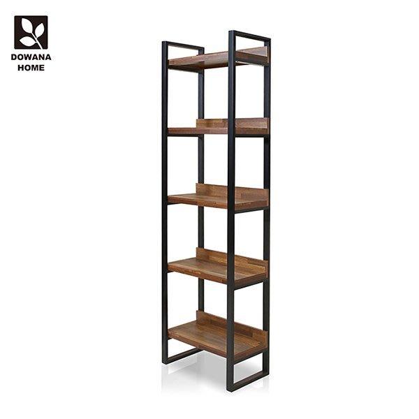 【多瓦娜】2尺高書櫃/書架-二色-18048-BK