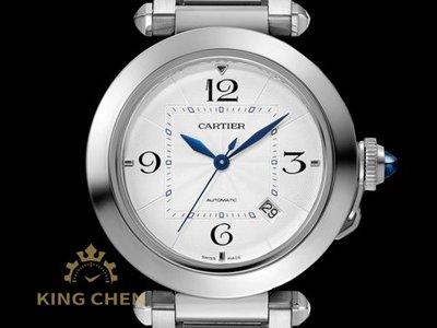 【金宸名錶】Cartier 卡地亞 PASHA DE CARTIER 腕錶 WSPA0009 鍊帶 自動上鍊 AS116