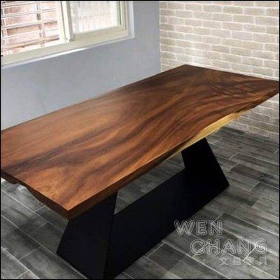 實木大板材 桌面 雨豆木 非洲胡桃木 各種尺寸 SH-001  *文昌家具*