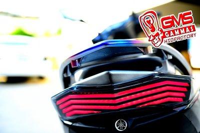 GAMMAS-HID 台中廠 新勁戰 三代 GMS R3 導光LED尾燈  流星方向燈 超人氣 非仿BMW