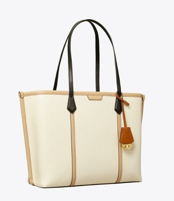 Tory Burch PERRY COLOR-BLOCK TRIPLE-COMPARTMENT TOTE BAG