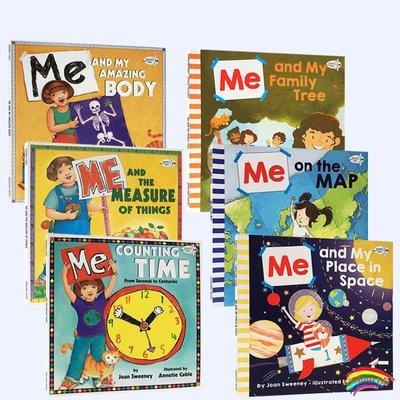 英文原版繪本 吳敏蘭推薦書單 科普讀物6冊 Me on the Map and My系列 兒童百科課外英語閱讀圖畫童書 親子互動共讀