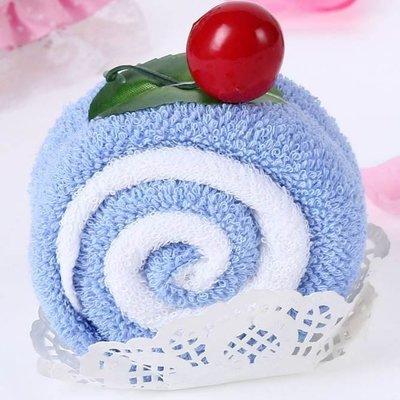 小毛巾 蛋糕創意手帕-可愛新穎兒童獎勵生日情人節禮物生活用品2款73ja17[獨家進口][巴黎精品]