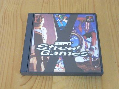 【小蕙館】PS~ ESPN STREET GAMES 街賽 (純日版)