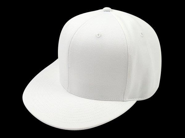 【二鹿帽飾 】男女皆可‧潮流配色《帥氣時尚風格 優質造型加大帽簷坂帽. 素白色 》.板帽-特價199元
