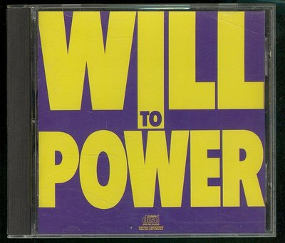 Will To Power - Baby I Love Your Way 80歐舞 w6