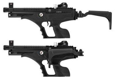 !【終極警探】AIR空氣槍-進口-HATSAN-SORTIE-快俠-PCP-半自動-突襲者後托版-手槍快速射擊