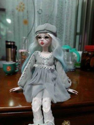 60釐米19女孩玩具32關節活動sd洛麗塔芭比十二星座洋娃娃生日禮物