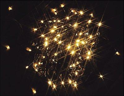 【洋洋小品LED100燈串暖白】桃園平鎮中壢聖誕節聖誕樹戶外燈庭園燈ED燈條LED燈串環保燈光省電燈光聖誕燈
