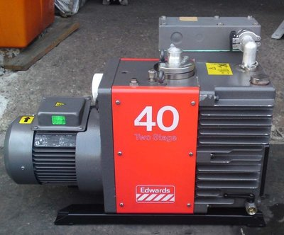 英國製BOC EDWARDS E2M40 (2HP)油式真空幫浦/真空機(外匯品性能良好)真空製程、翻模、真空脫泡機可用