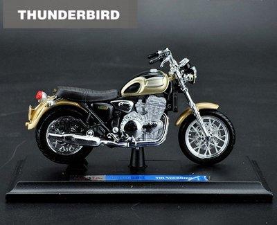 【凱旋摩托車模型】Triumph Thunderbird 重機模型模型 Maisto 美馳圖 1/18精品車模