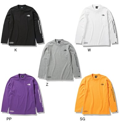 THE NORTH FACE TESTED PROVEN TEE 長袖上衣 NT82032。太陽選物社