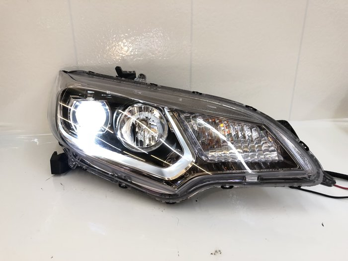合豐源 車燈 FIT 飛度 LED 魚眼 大燈 頭燈 GK5 RS 13 14 15 16 17 18 高配 JAZZ