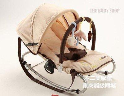 【格倫雅】^出口歐洲多功能寶寶嬰兒搖椅 搖籃 寶寶安撫椅 搖搖椅 躺椅秋千可49595