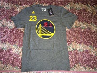 現貨 Adidas NBA 勇士 Draymond Green 中文 短T恤 curry kobe lebron UA 猴年 TEE kd ua