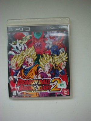 PS3 七龍珠 迅猛炸裂2 英文版 Dragon Ball: Raging Blast