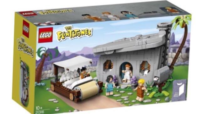 Lego 樂高積木-Lt21316~The Flintstones