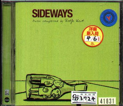 K - Rolfe Kent - Sideways - 日版