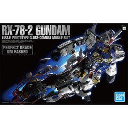 BANDAI  PG UNLEASHED PGU 1/60 RX-78-2 初代 鋼彈