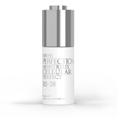 【化妝檯】SWISS PERFECTION RS-28 白瓷淡斑精華  30ml 鉑金瑞士 台灣專櫃 效期最新 新品上市