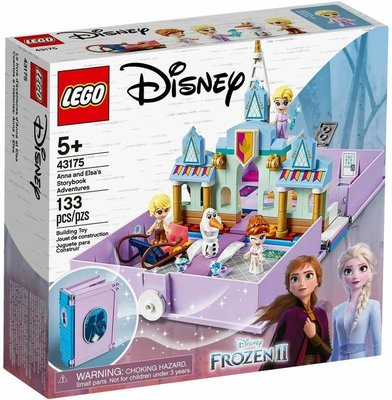 LEGO 樂高 43175 (樂高熊) 冰雪奇緣 安娜與艾莎 口袋故事書 全新未拆 保證正版